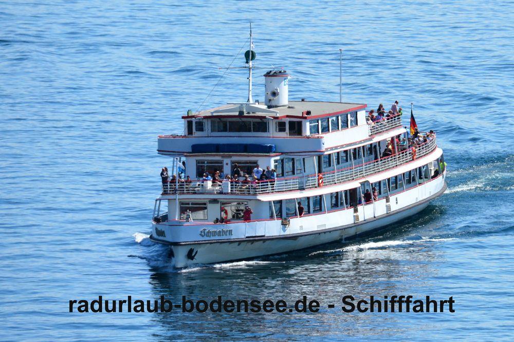 Schifffahrt am Bodensee - MS Schwaben