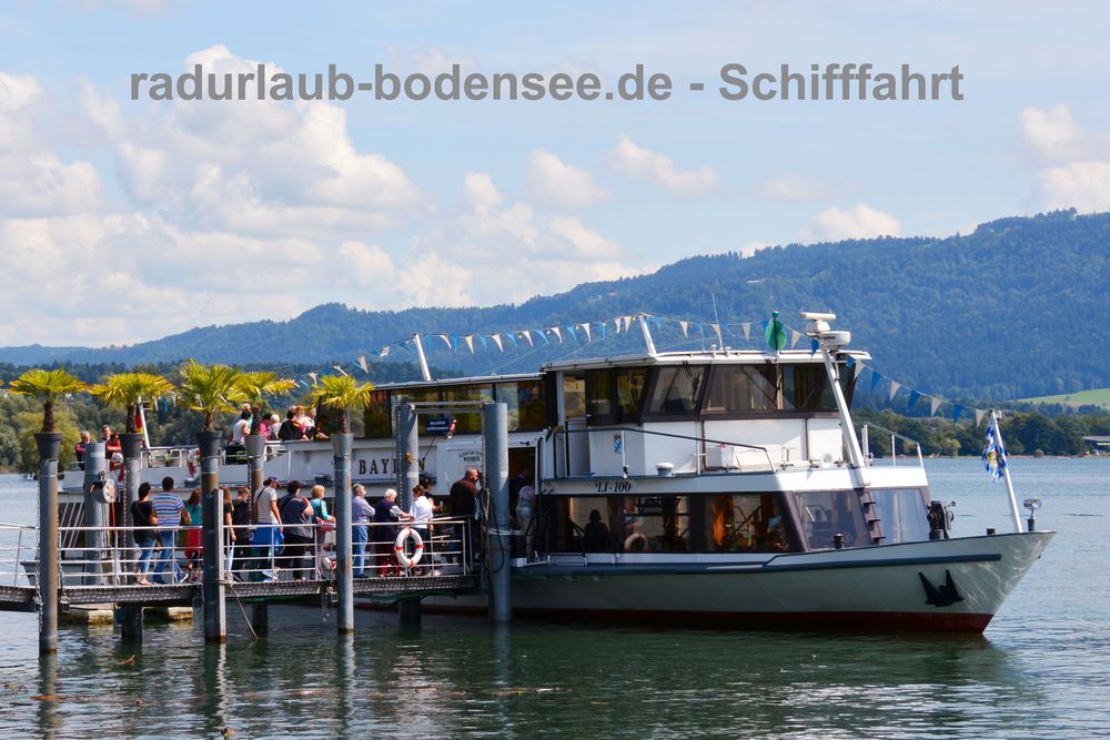 Schifffahrt am Bodensee - MS Bayern