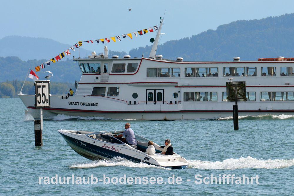 Schifffahrt am Bodensee - MS Stadt Bregenz