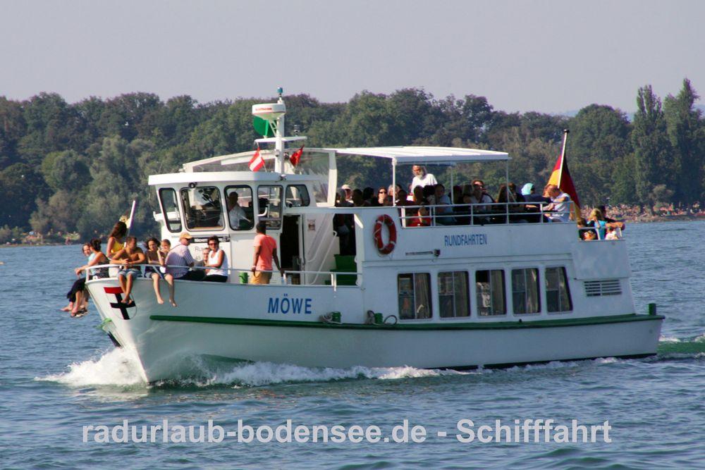 Schifffahrt am Bodensee - MS Möwe