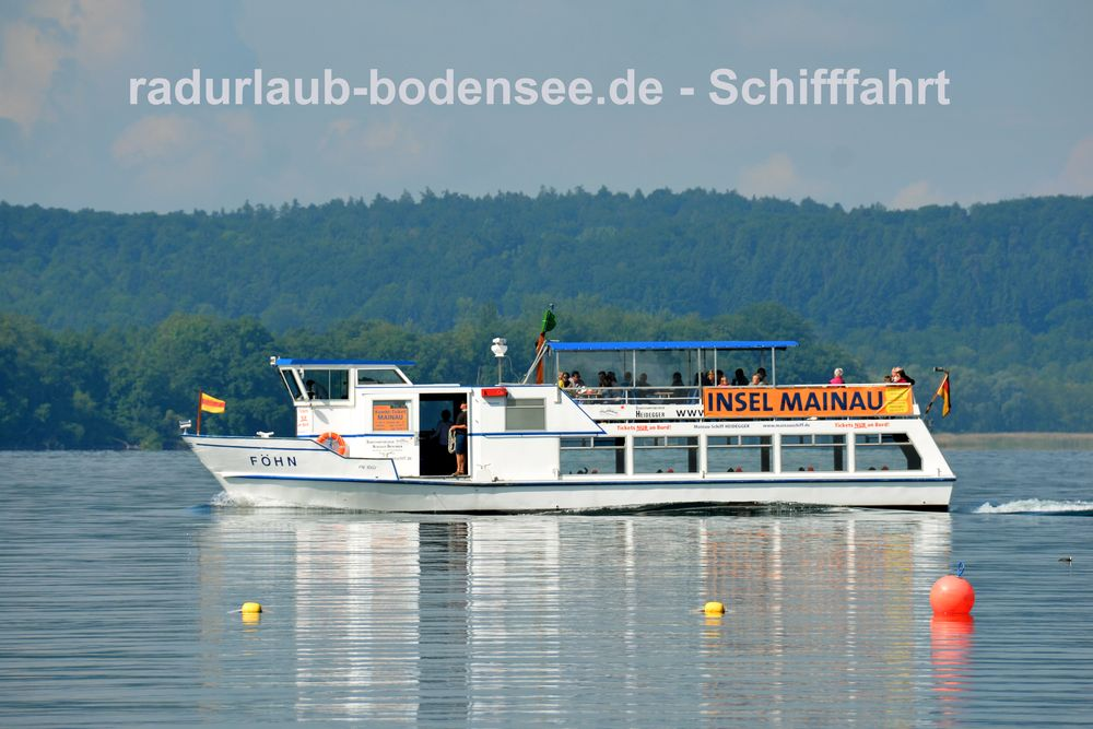 Schifffahrt am Bodensee - MS Föhn