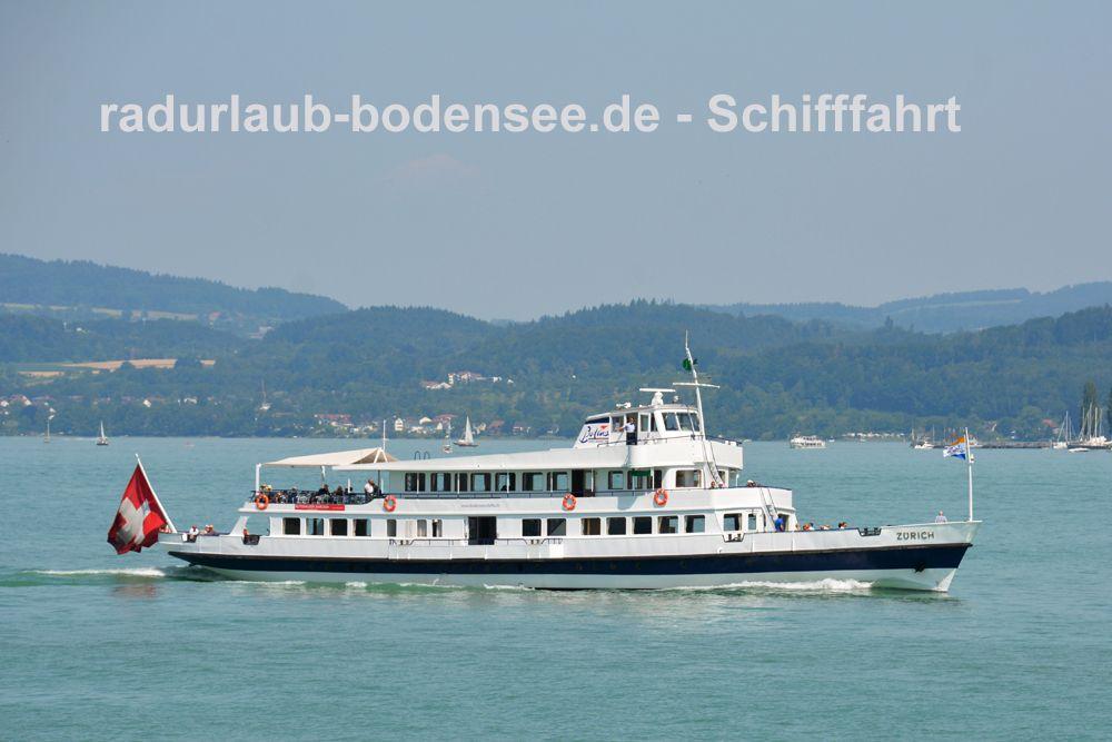 Schifffahrt am Bodensee - MS Zürich