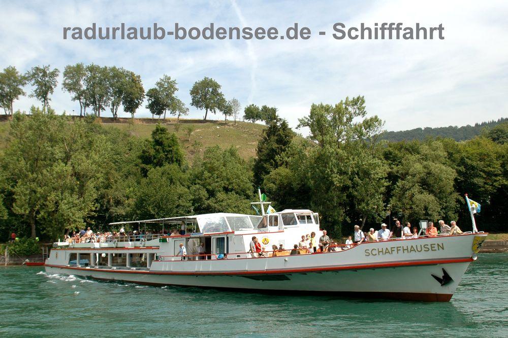 Schifffahrt am Bodensee - MS Schaffhausen