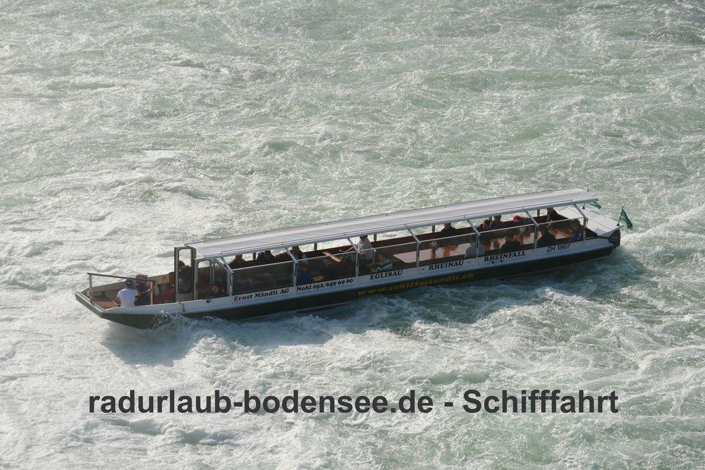 Schifffahrt am Bodensee - Boot vom Mändli